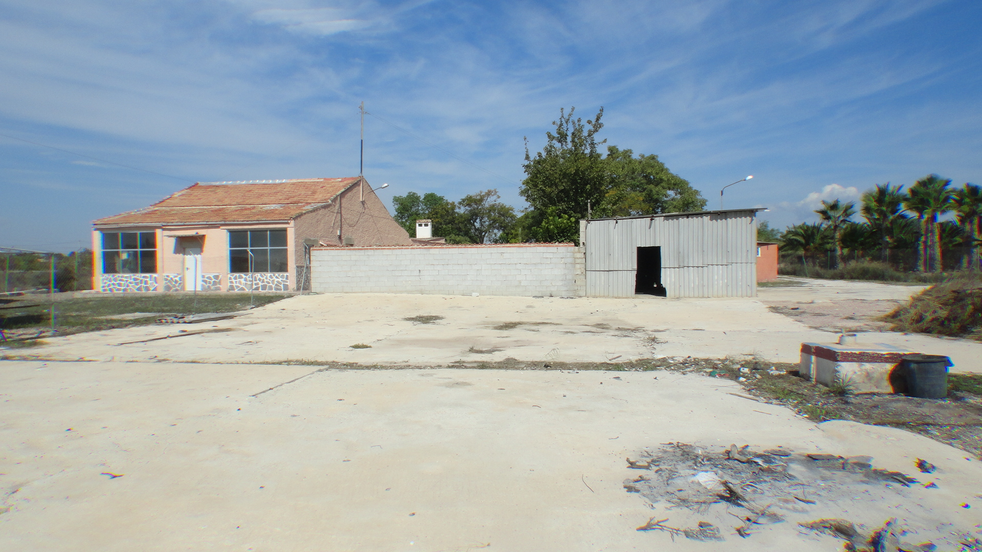 Finca with business potential