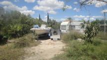 Plot and caravan