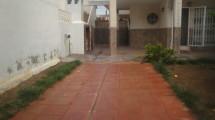 corner with big garden